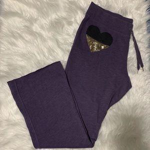 {Victoria's Secret} Purple Sweatpants
